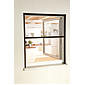 "Alu-Fensterrollo ""Smart"" 100 x 160 cm braun"