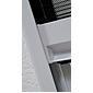 Insektenschutz-Dachfenster-Plissee 80 x160cm, weiß