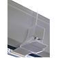 Sonnenschutz-Plissee 100 x 130 cm weiß