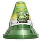 Pflanzenhut grün-transparent,  Ø24 cm, 10 Stück