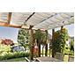 Sonnensegel-Seilspanntechnik uniweiß 4,2 x 1,4 m