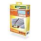 Sonnensegel-Seilspanntechnik cyanblau 2,7 x 1,4m