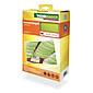 Sonnensegel-Seilspanntechnik apfelgrün 4,2 x 1,4m