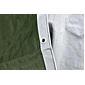 Schutz-Plane GEOTEX 6x8m, 180g/m², grün/silber