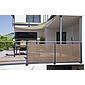 Sichtschutzmatte Willow LongLife 3x1m, braun