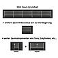 Doppelstabmatte-Anbauset 6-5-6, fvz, 2000x1200, 2m