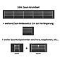 2m Doppelstabmatte 6-5-6 + Pfosten anth 2000x1400
