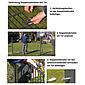 GAH Stabgitter Einzeltor FLEXO grün 1500 x 800 mm