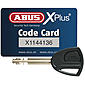 ABUS Bordo Granit X-Plus 6500/85 white Faltschloss
