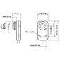 Axis F1025 Sensoreinheit für F-Serie, 3 m