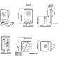 Axis M1025 IP-Kamera 1080p PoE