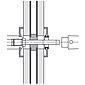 FSB 050107 Wechselstift 8/10x140mm Türst. 86-95mm
