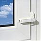 Abus 2510 W AL0089  Fensterschloss f.Flügelfenster