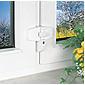 ABUS DFS95 B AL0125  Fensterschloss, braun