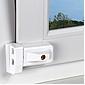ABUS 3030 W AL0125 Fensterschloss, weiß