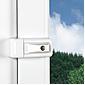 Abus 3010 W AL0125 Universal-Fensterschloss, weiß