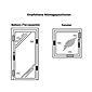 ABUS FAS97 B EK Automatik Scharnierseitensicherung