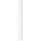 Abus Stangenset FOS550 1W 75cm/75cm, weiß