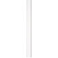 Abus Stangenset FOS550 2W 75cm/118cm, weiß