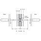 Spezialstift 9x112 mm Stahl verzinkt f. Paniktüren