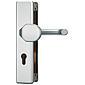 Abus KLT512 F1 EK Schutzbeschlag, aluminium