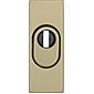 Abus RSZS316 F4 EK Schutzrosette, bronze