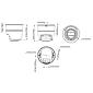 Axis M3105-LVE IP-Kamera 1080p TN IR PoE IP66 IK08