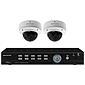 Monacor AXZ-204DV Video-Überwachungsset 4-Kanal