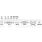 Monacor TFT-810LED LCD-Farbbildschirm