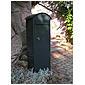 Safepost 70-5 Combi Briefkasten anthrazitgrau