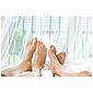 tesa® Comfort Moskitonetz mit Deckenhaken weiß