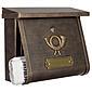 Heibi Briefkasten Multi 64104-002 Braun / Gold