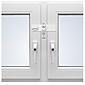 Deni Fenstersicherung FS4 schwenkbar zweiflügelig