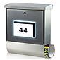 Burg Wächter Malaga 4400 Si silber Briefkasten