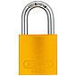 ABUS Aluminium-Vorhangschloss 72/40 gelb