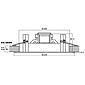 MONACOR EDL-68/WS ELA-Deckenlautsprecher