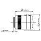 Mobotix Sensormodul S15/16, M15/16 CSMount Tag 6MP