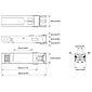 AXIS T8611 SFP Modul LC.LX