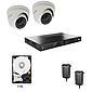 Abus HD Videoüberwachungsset 2x Kameras + Rekorder