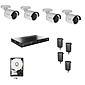 Abus HD Überwachungssystem 4x Kameras + Rekorder