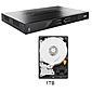 ABUS HDCC90000 Analog HD Videorekorder mit 1TB