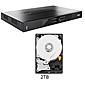 ABUS HDCC90010 Analog HD Videorekorder mit 2TB