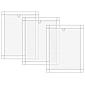 Alu-Fliegengitter Basic 100x120cm weiß - 3er Set