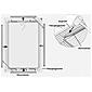 Alu-Fliegengitter Basic 100x120cm weiß - 6er Set