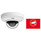 Axis IP-Kamera Set M3044-V + Aufkleber