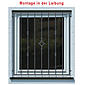 Tiamat Fenstergitter Einbruchschutz Modell B
