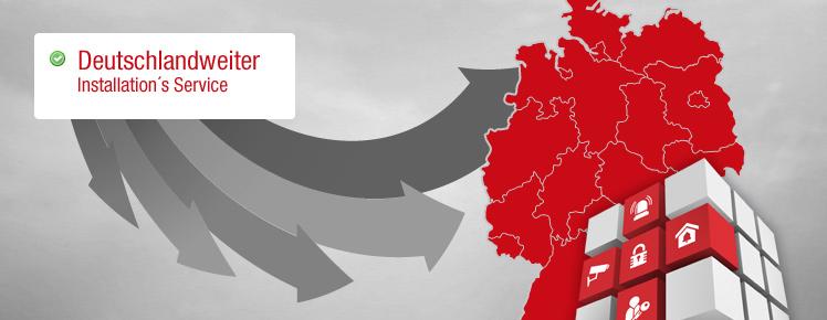Deutschlandweiter Installations-Service