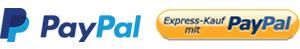 Vorrauskasse per PayPal-Zahlung