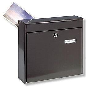Briefkasten Braun