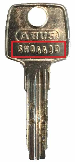 Abus EC550 Nachschlüssel